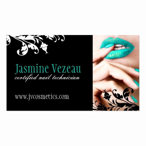 Nails Business Cards Design Inspirational Nail Technician Business Cards