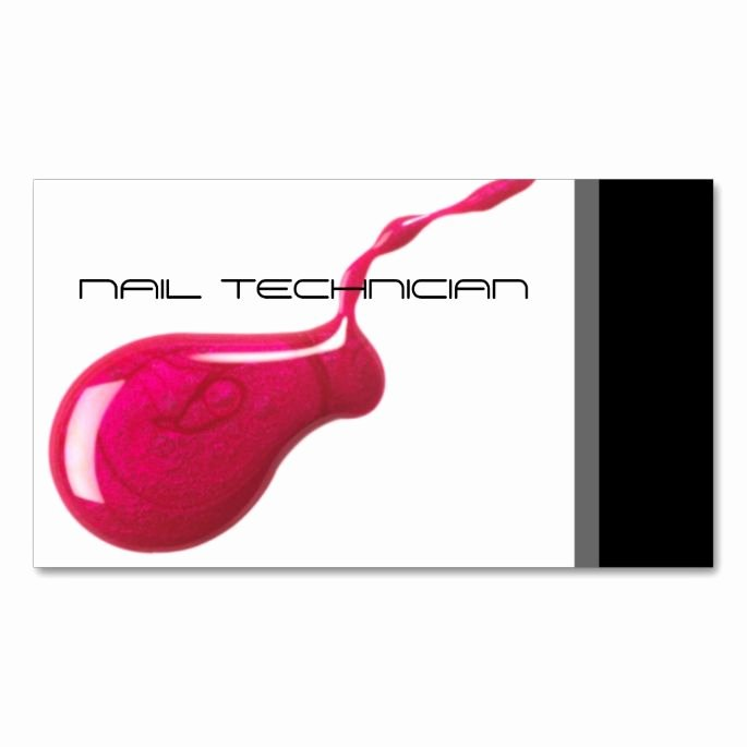 Nails Business Cards Design Luxury 1938 Best Images About Nail Technician Business Cards On Pinterest