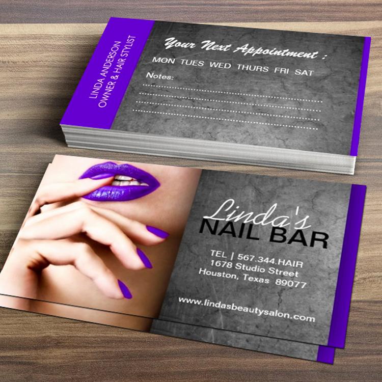 Nails Business Cards Design Luxury Nail Technician Business Card Zazzle In 2019 Future Salon