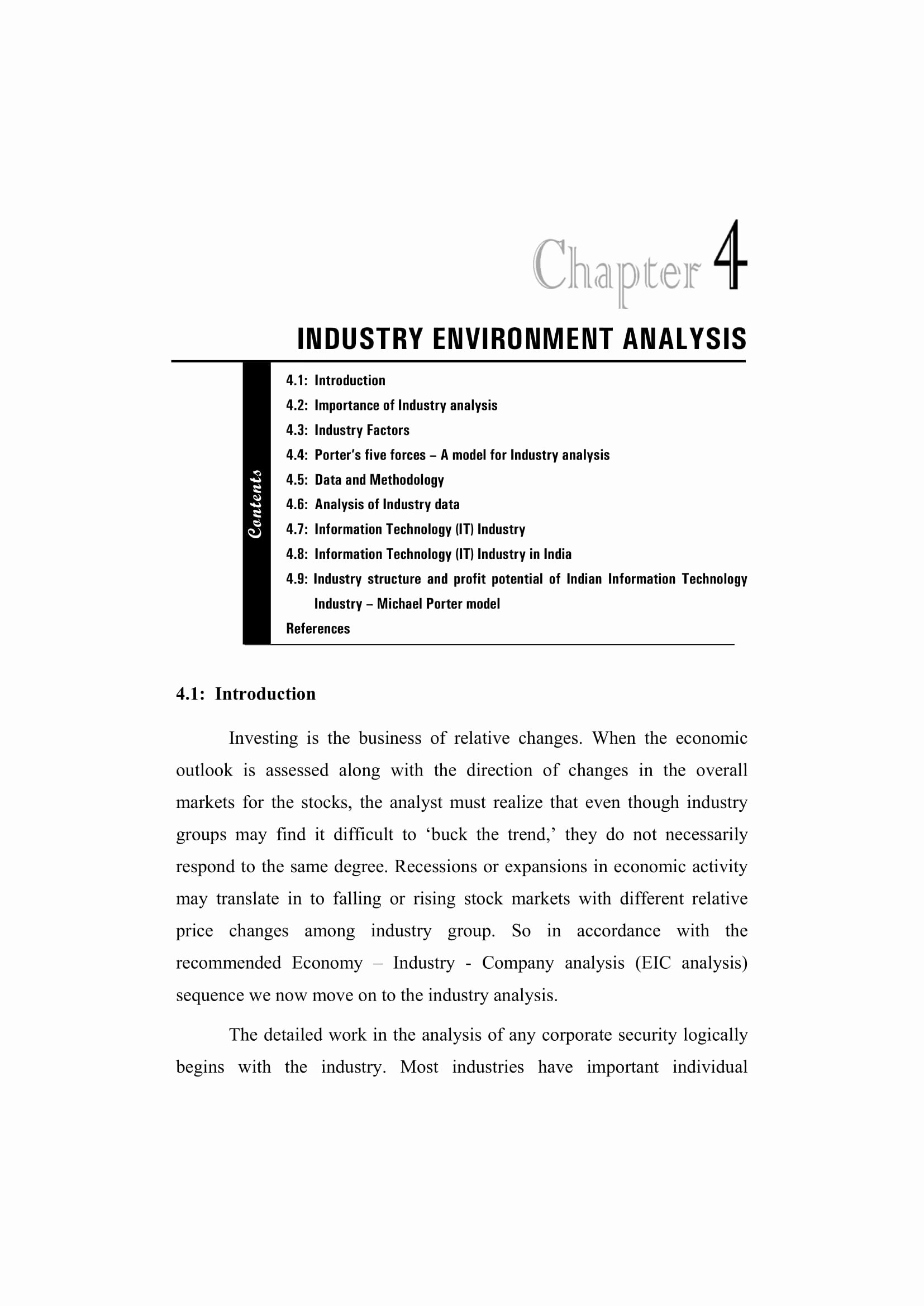 Nature Of Business Example Fresh 9 Industry Analysis Examples Pdf
