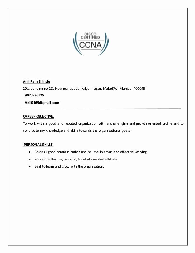 Network Engineer Resume Example Unique Network Engineer Resume