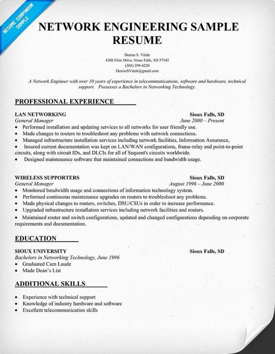 Network Engineer Resume Sample Awesome Network Engineering Resume Sample Resume Panion