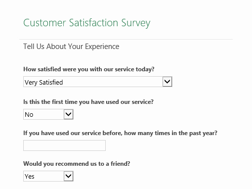 Network Site Survey Template Elegant Customer Satisfaction Survey