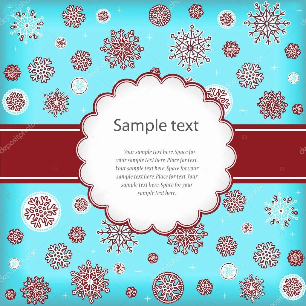 New Year Card Template Unique Template Design Congratulatory Christmas or New Years Card — Stock Vector © Kazyavka
