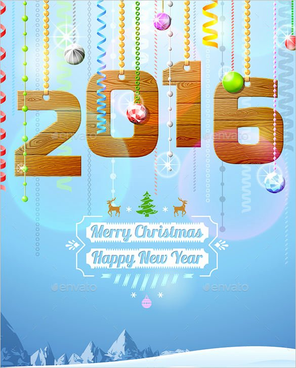 New Year Cards Templates Best Of 30 New Year Greeting Card Templates Free Psd Eps Ai Illustrator format Download