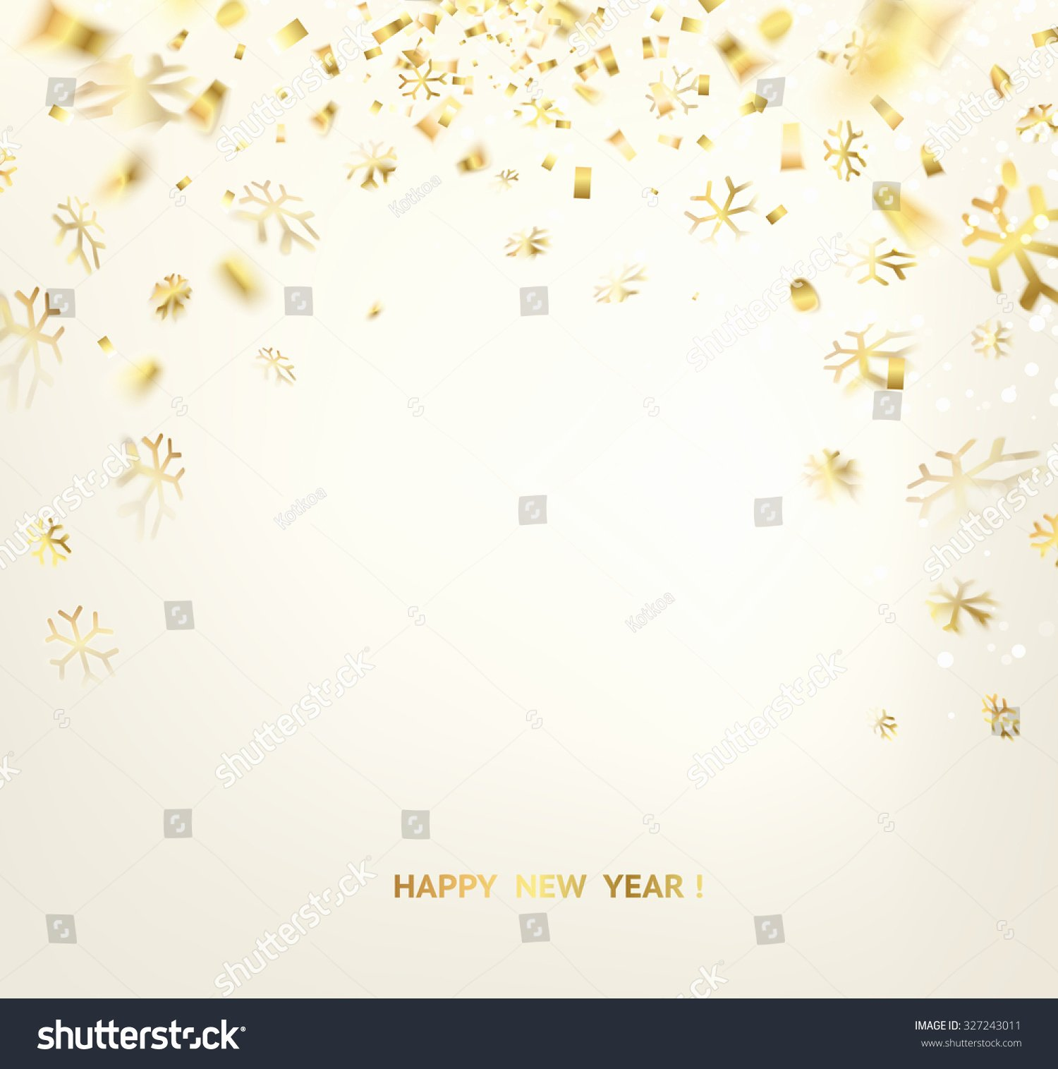 New Year Cards Templates Best Of Happy New Year Card Template Over Stock Vector Shutterstock