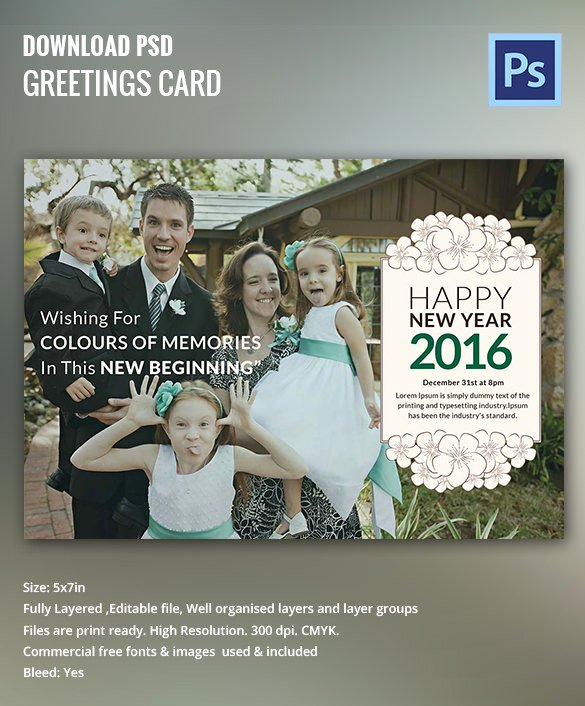 New Year Cards Templates New 28 New Year Invitation Templates – Free Word Pdf Psd Eps Indesign format Download