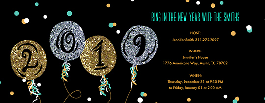 New Years Eve Invitation Templates Best Of Free New Year S Eve Party Invitations