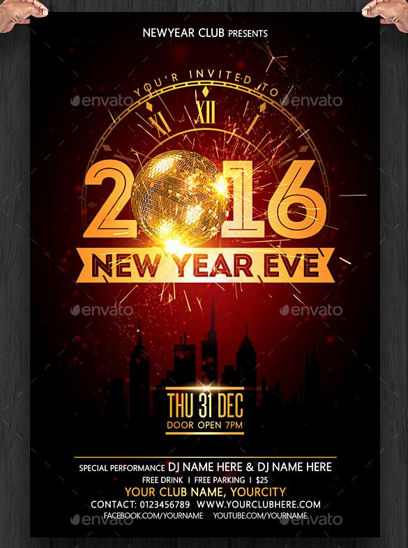 New Years Eve Invitation Templates Lovely 28 New Year Invitation Templates – Free Word Pdf Psd Eps Indesign format Download