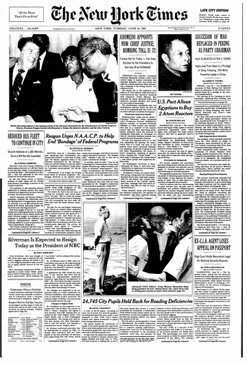 New York Times Newspaper Template Awesome the Reagan Team S Chief Recruiter the New York Times