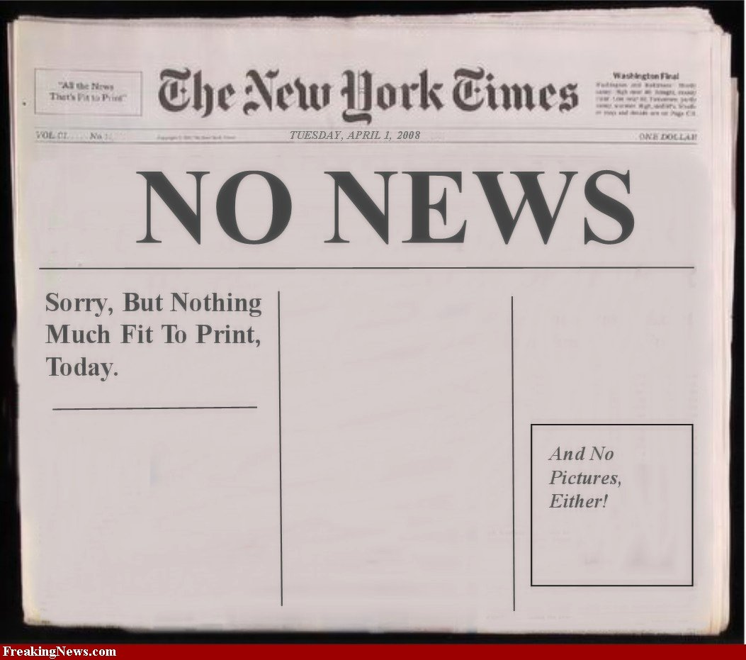 post blank newspaper template for word