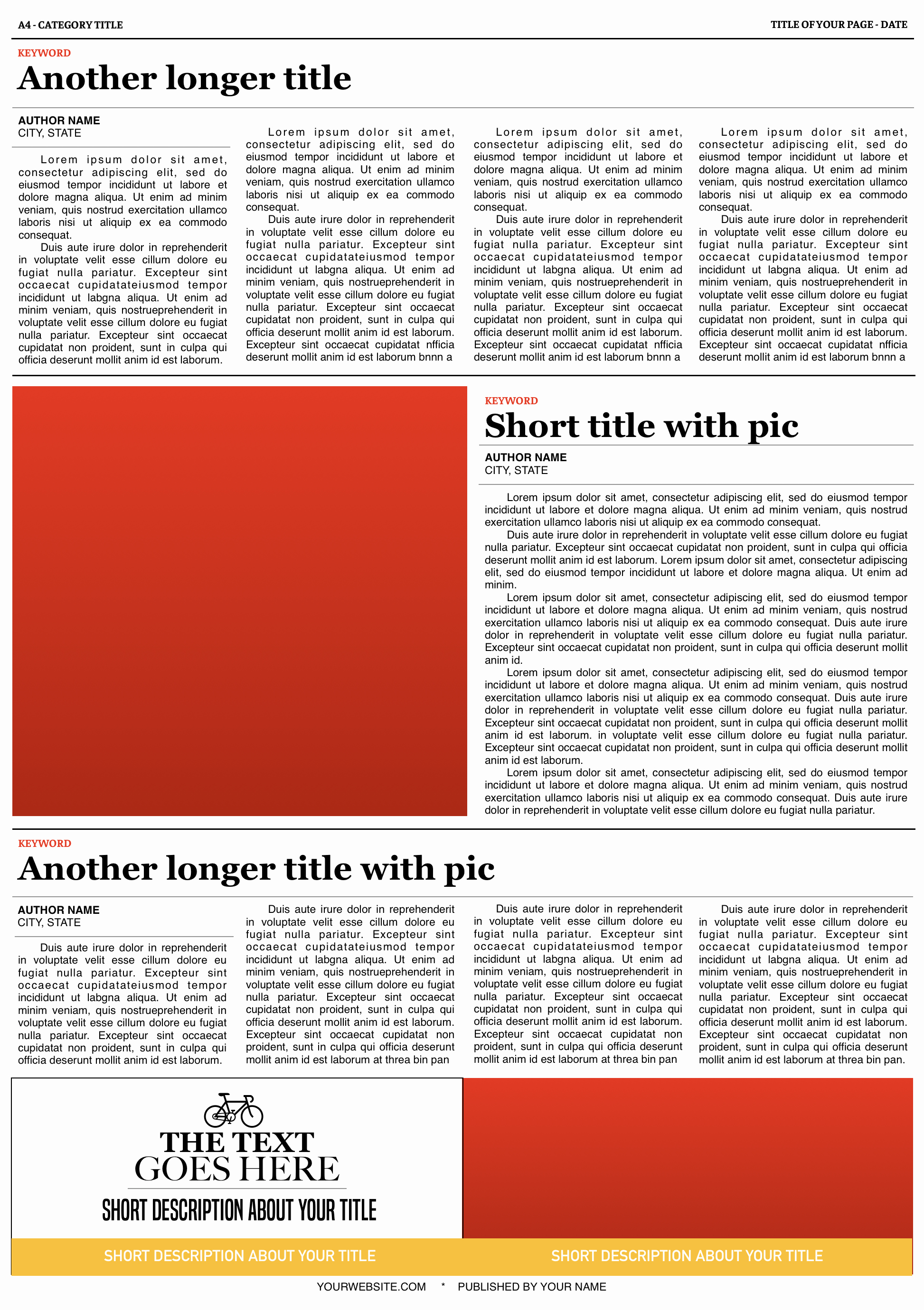 New York Times Newspaper Template Best Of the New York Times Layouts Template Free