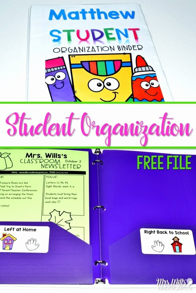 Newsletter Examples for Students Best Of Student organization Binders