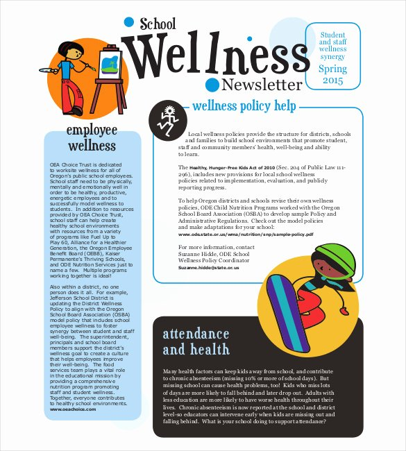 Newsletter Examples for Students Elegant Primary School Newsletter Articles Faculty Thing Blog Page