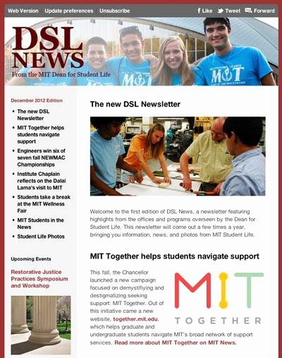 Newsletter Examples for Students Fresh 7 Best College Students News Images On Pinterest