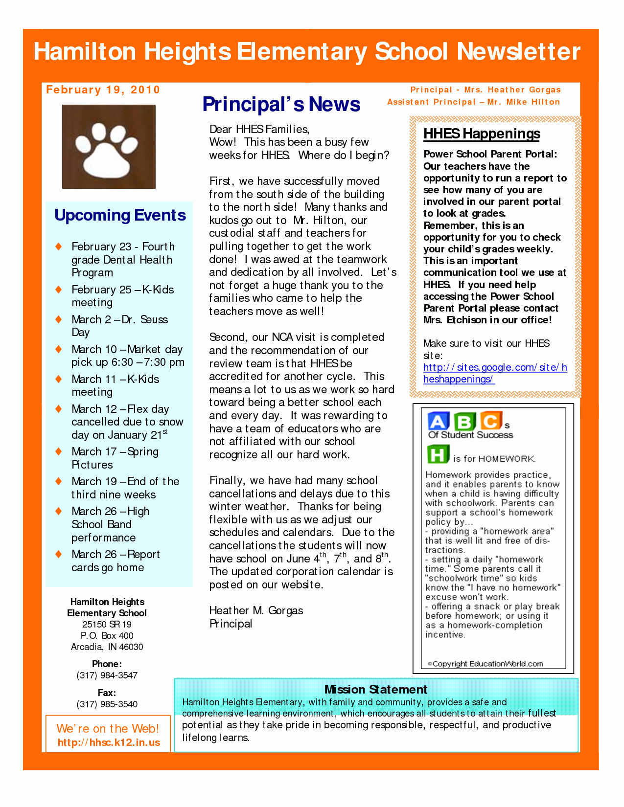 Newsletter Sample for School Awesome Best S Of Sample School Newsletter Templates Free Preschool Newsletter Template