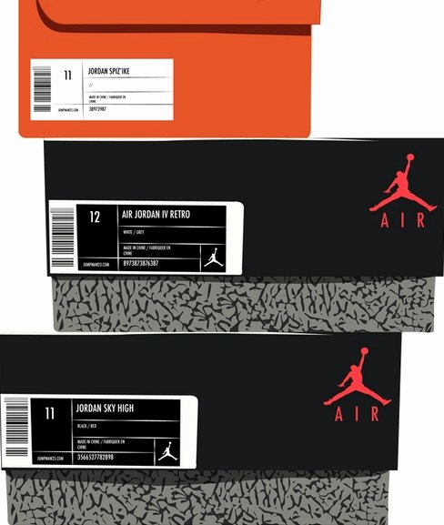 Nike Shoe Box Label Template Awesome How to Tell if Jordans are Real with these 8 Simple Steps