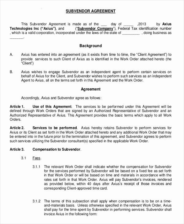 Non Compete Agreement Sample Pdf Unique Business Non Pete Agreement – 11 Free Word Pdf