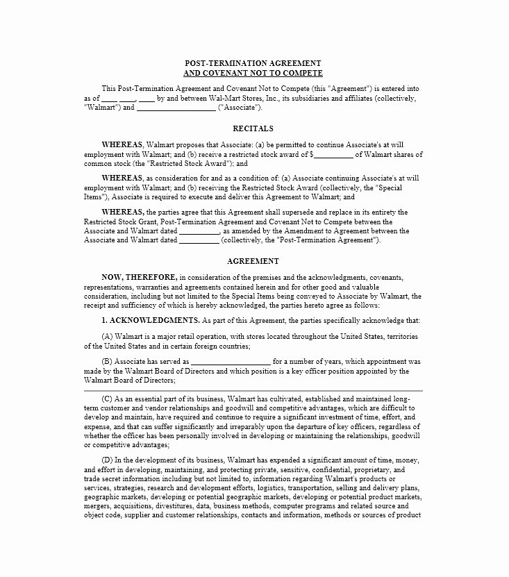 Non Compete Agreement Texas Template Inspirational 39 Ready to Use Non Pete Agreement Templates Free Template Downloads