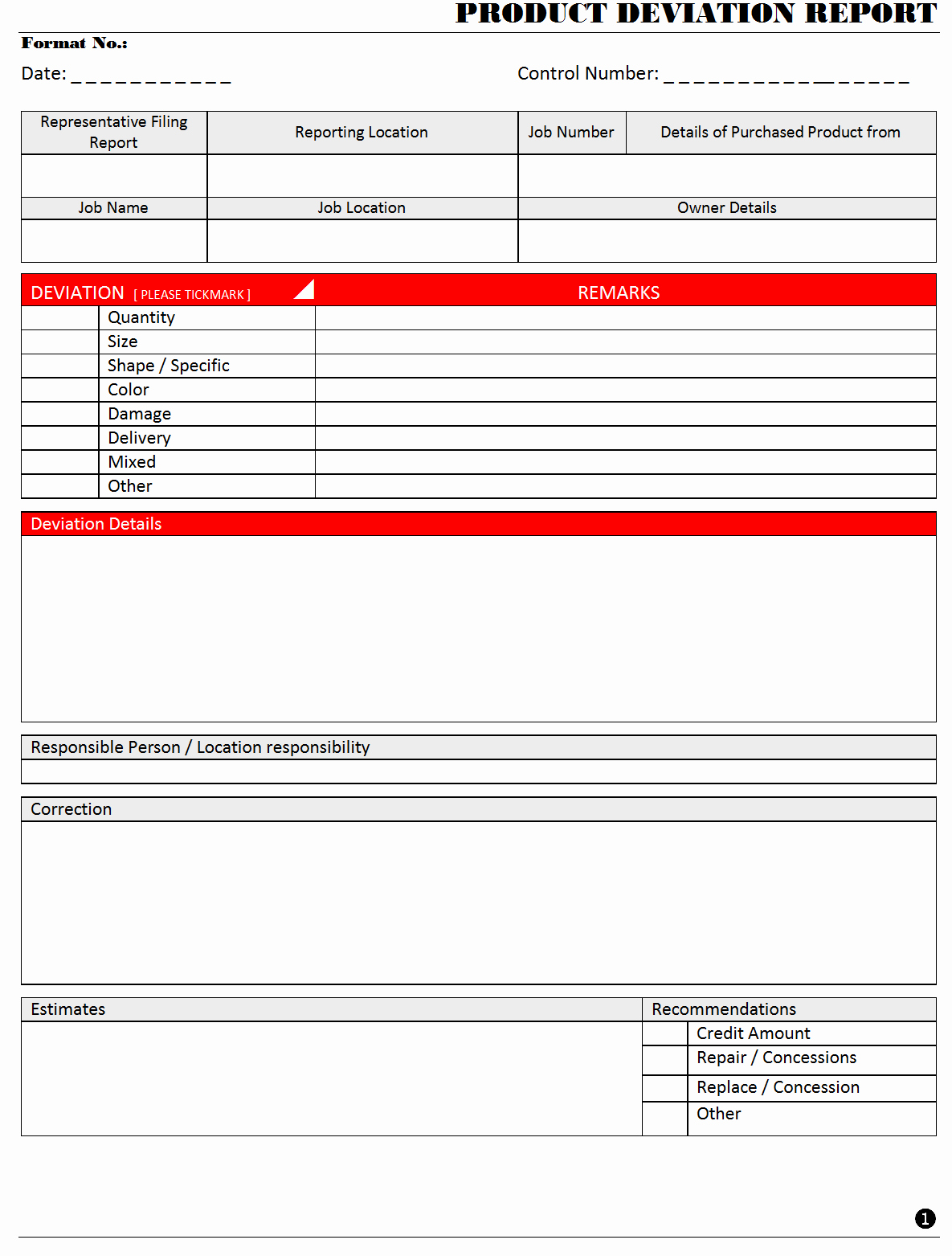 Non Conformance Report Template Lovely How to Write A Non Conformance Report