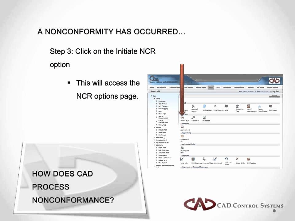 Non Conformance Report Template Unique Nonconformance Reporting