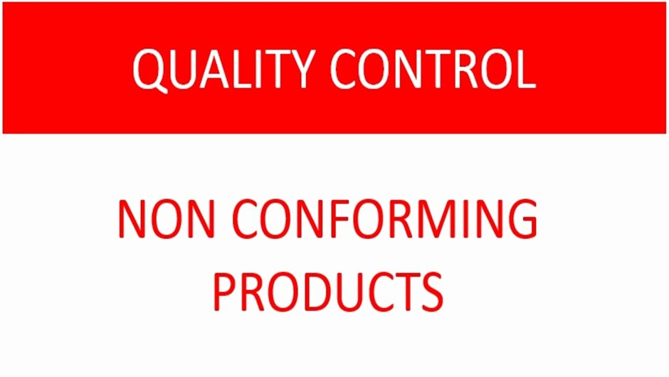 Non Conforming Material Report Luxury iso 9001 Standard Control Of Nonconforming Product Requirements iso 9001 – Quality Management