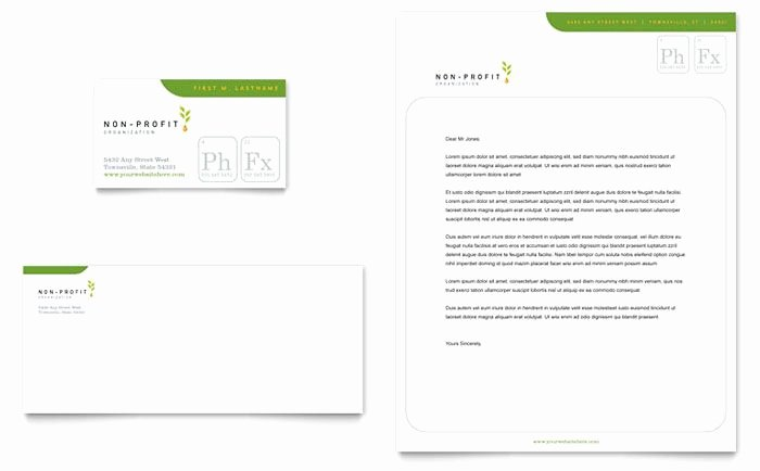 Non Profit Business Cards Awesome Environmental and Agricultural Non Profit Business Card and Letterhead Design Template by