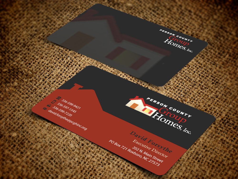 Non Profit Business Cards Lovely Non Profit Business Card Design for A Pany by Pixelfountain