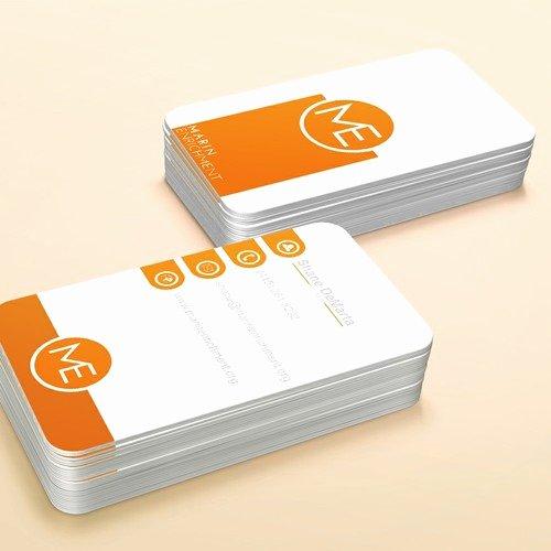Non Profit Business Cards Unique Non Profit Business Card Clean and Colorful