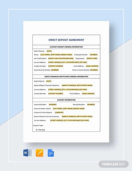 Non Refundable Deposit Agreement Template Inspirational 11 Deposit Agreement Templates Pdf Word