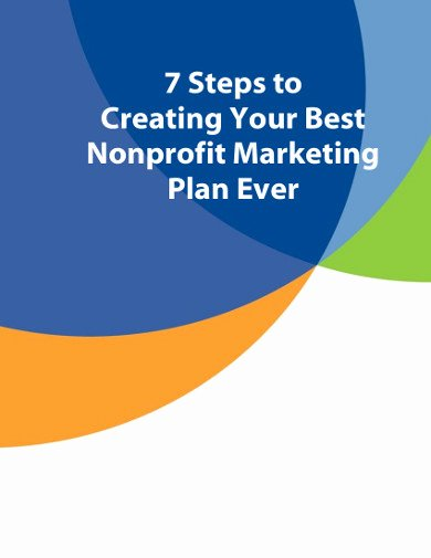 Nonprofit Marketing Plan Template Fresh 13 Nonprofit Marketing Plan Templates In Pdf