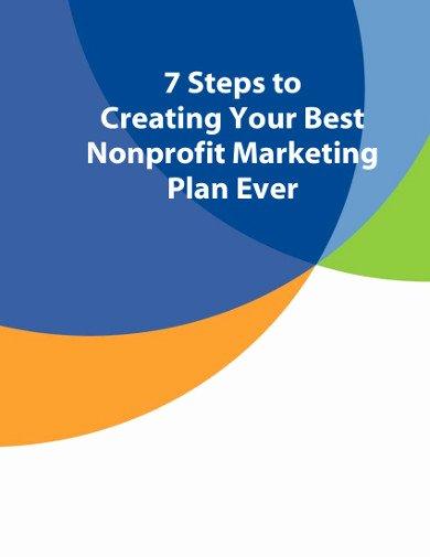 Nonprofit Marketing Plan Template Fresh 13 Nonprofit Marketing Plan Templates In Pdf