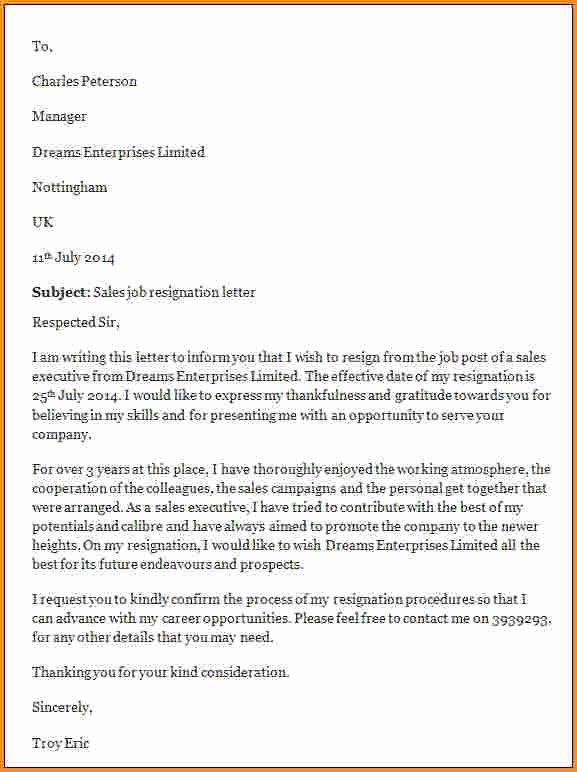 Nurses Letter Of Resignation Lovely Nursing Resignation Letter