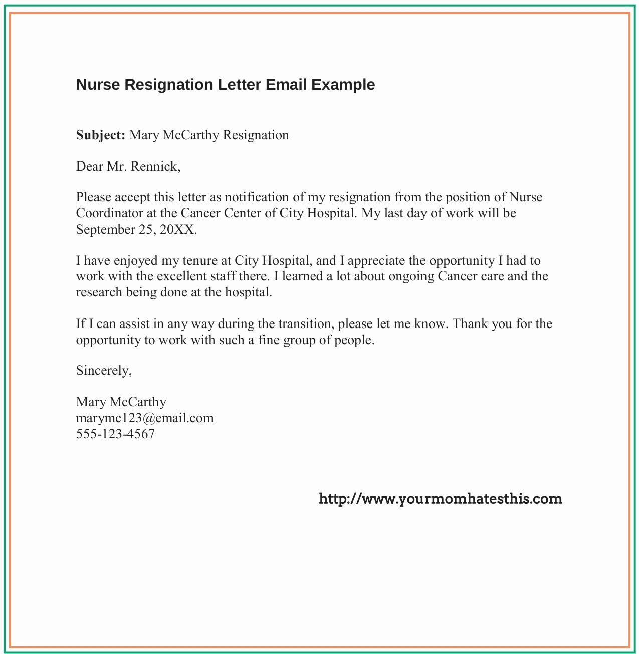 Nurses Letter Of Resignation Luxury Dos and Don'ts for A Resignation Letter