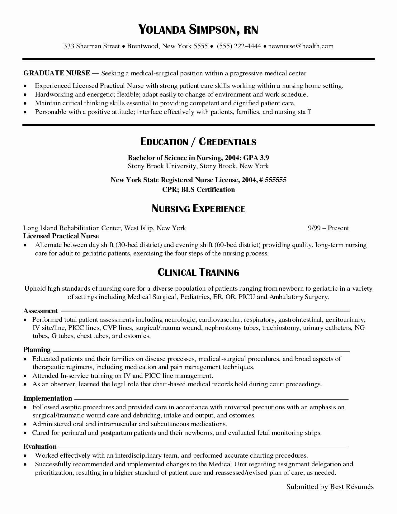 Nursing Clinical Experience Resume Fresh Clinical Experience On Nursing Resume Google Search Nursing School