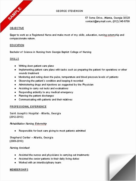 Nursing Clinical Experience Resume Lovely Nursing Student Resume Clinical Experience Google Search School