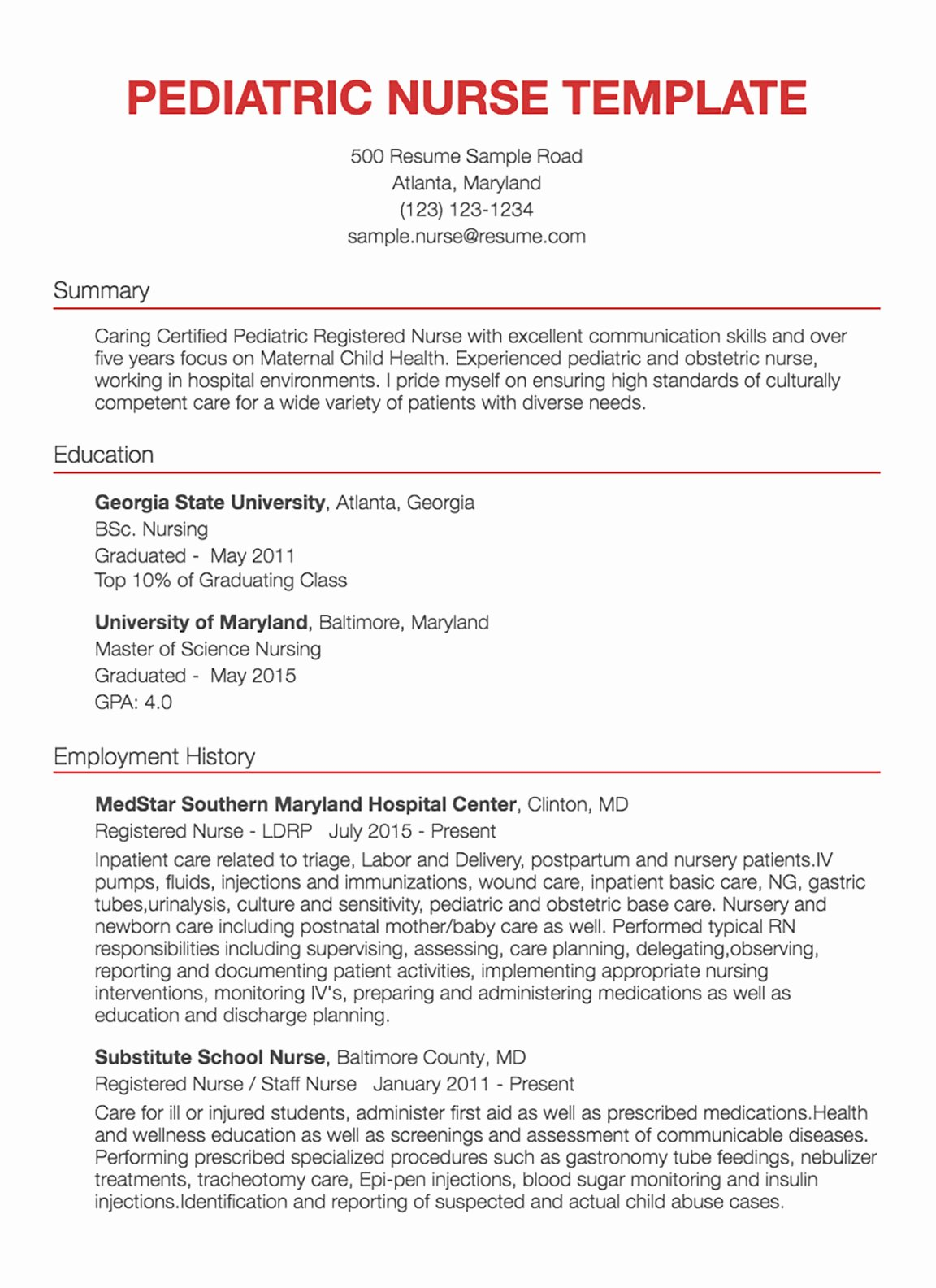 Nursing Clinical Experience Resume New 30 Nursing Resume Examples & Samples Written by Rn Managers