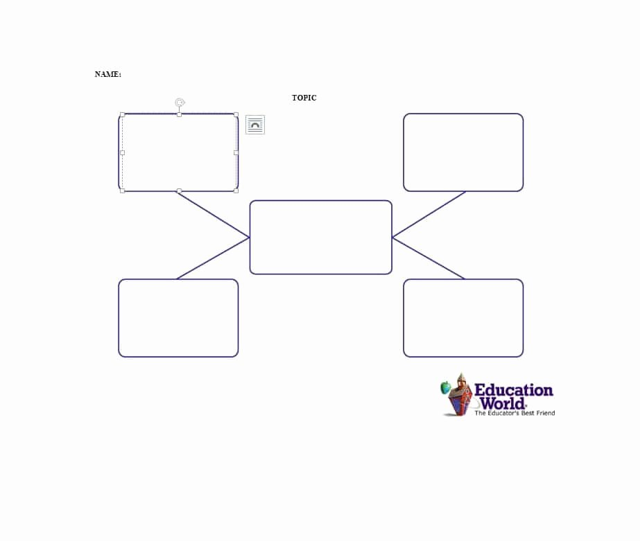 Nursing Concept Mapping Template Best Of 40 Concept Map Templates [hierarchical Spider Flowchart]