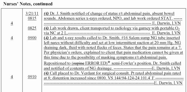 Nursing Progress Note Sample Lovely Nursing Notes Documentation Examples Google Search Nursing