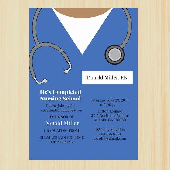 Nursing School Graduation Invitations Unique Graduation Announcements Nursing School Graduation and Graduation On Pinterest