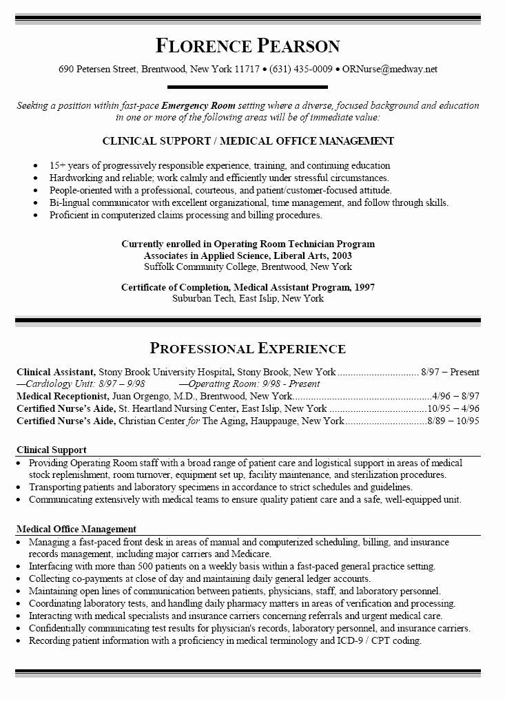 Nursing Student Resume Examples Fresh Sample Resume Nursing Student No Experience This is the Right Place for You to Find some Of them