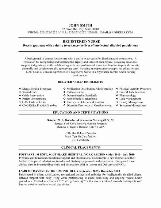 Nursing Student Resume Template Unique Here to Download This Registered Nurse Resume Template