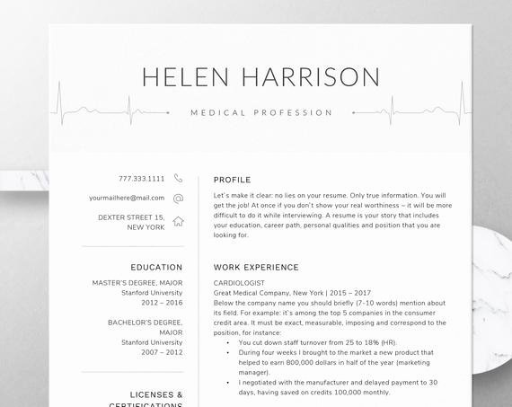 Nursing Student Resume Template Word Fresh Nurse Resume Template for Word Nursing Resume Template