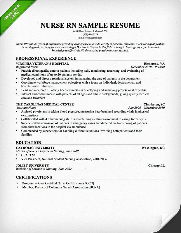Nursing Student Resume Templates Unique 26 Best Resume Genius Resume Samples Images On Pinterest