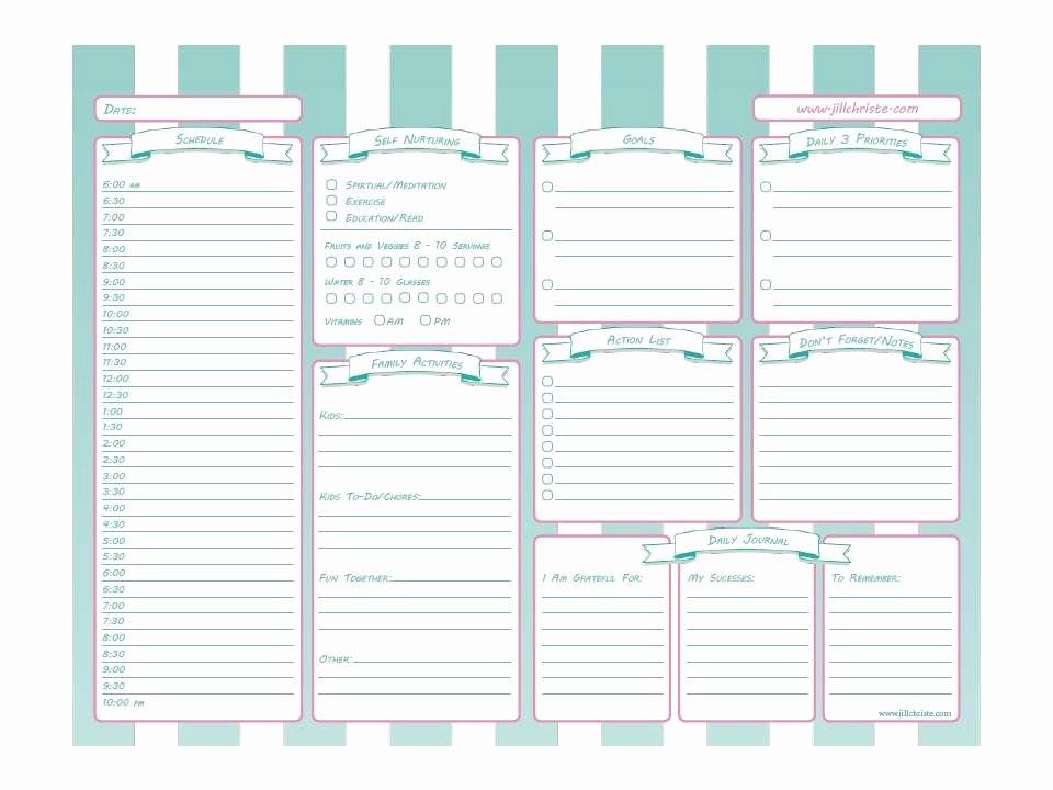 Nursing Time Management Sheet Fresh Printable Time Management System for Busy Moms