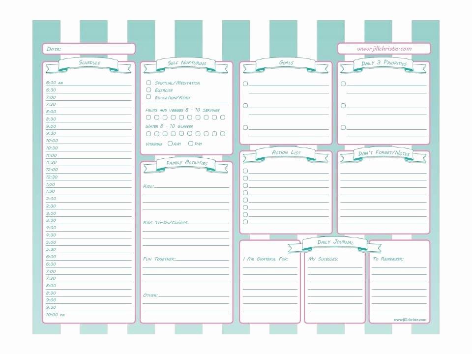 Nursing Time Management Sheet Fresh Printable Time Management System for Busy Moms