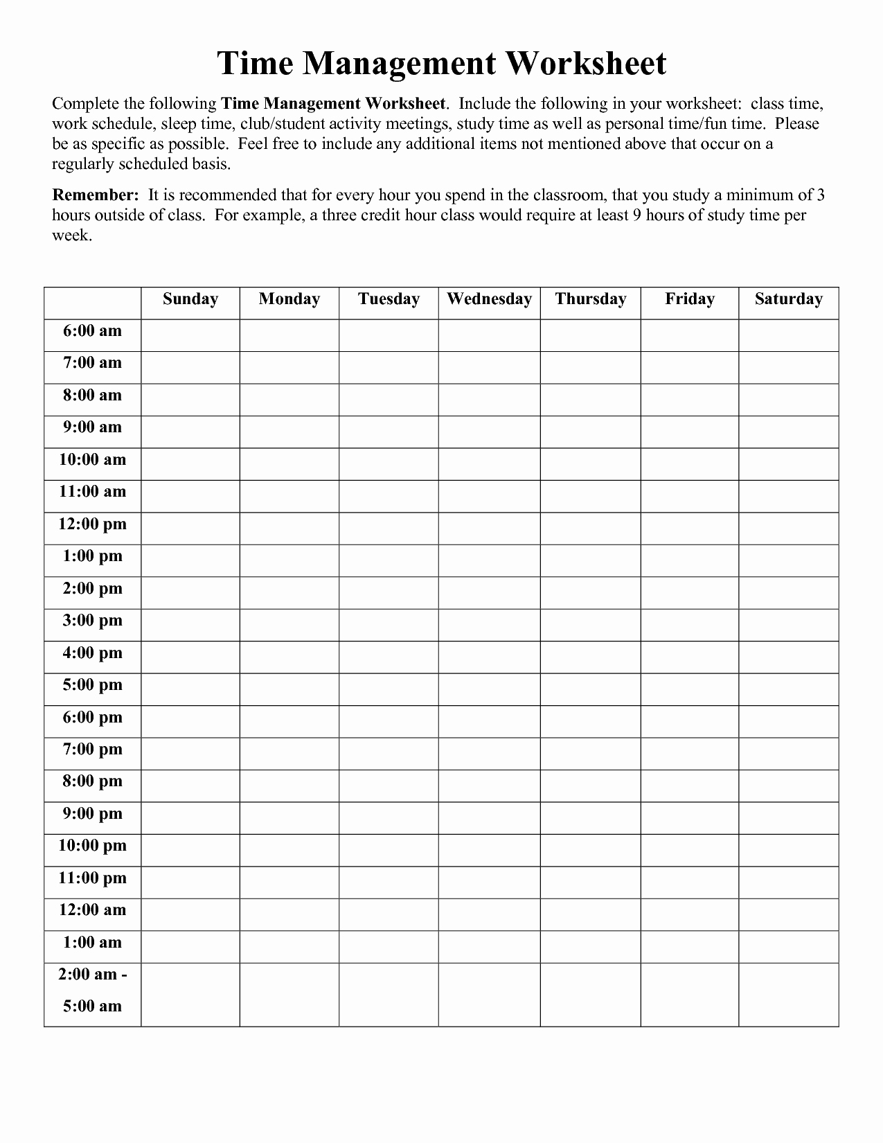 Nursing Time Management Sheet Luxury Time Management Worksheet Pdf sophia
