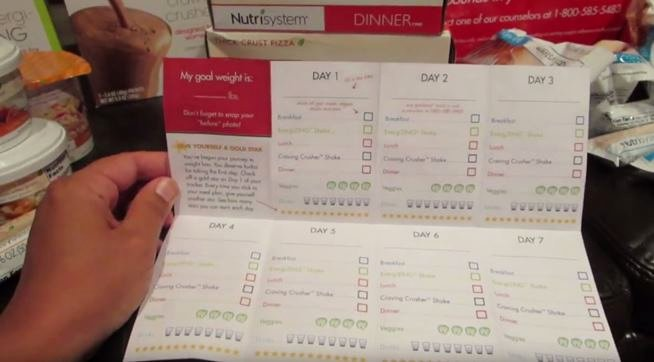 Nutrisystem Meal Planner Download Best Of Nutrisystem Unboxing – Day 1