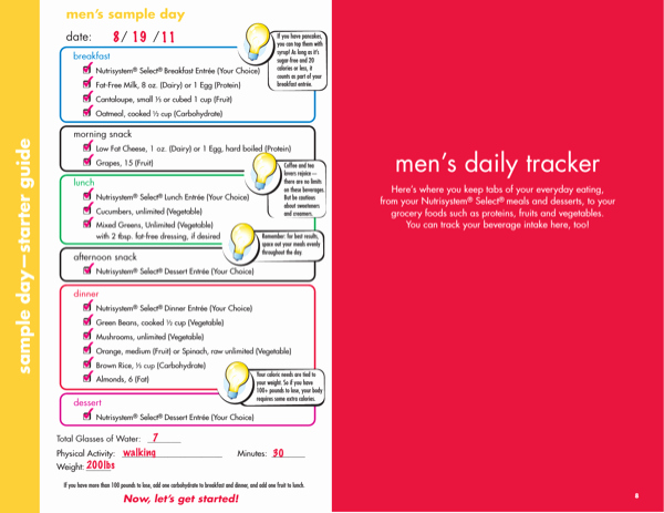 Nutrisystem Meal Planner Download Fresh Download Daily Meal Planner Template 1 for Free