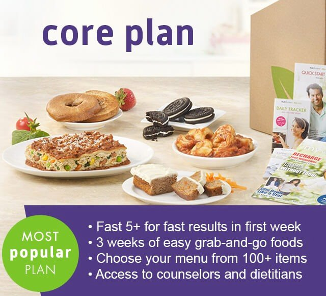 Nutrisystem Meal Planner Download Inspirational Nutrisystem Core Plan Weight Loss Program